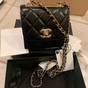 BRAND NEW 2020 Chanel Mini Trendy CC/Clutch Chain